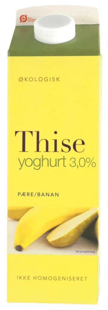 Yoghurt Pære/Banan Thise