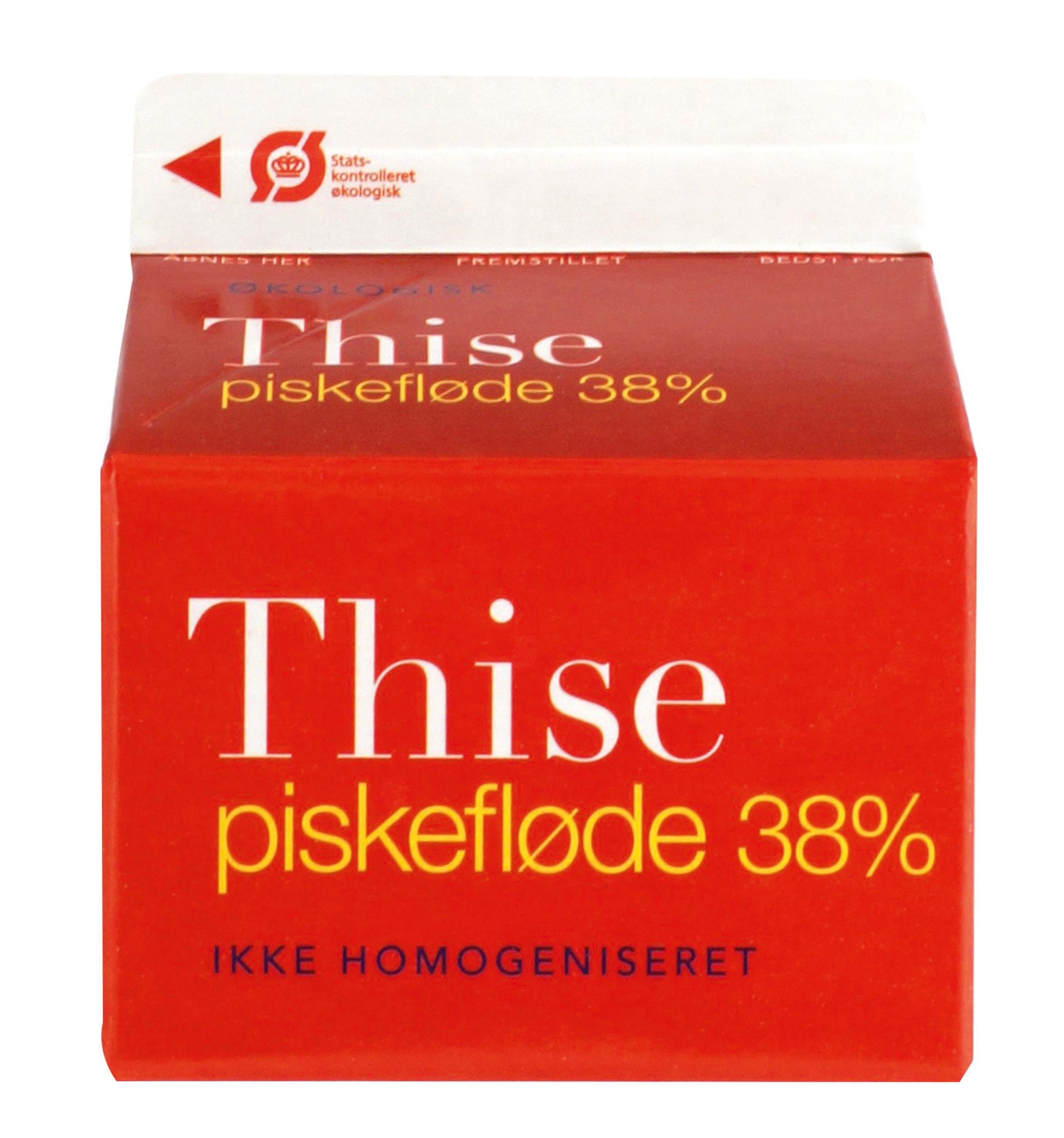 Piskefløde 0,25 l. Thise